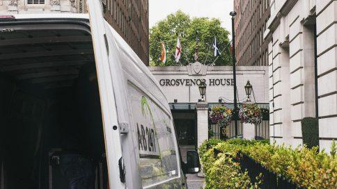 A-B 24/7 event logistics at the Grosvenor Hotel