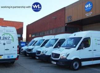 Wimbledon London courier company ab 24/7 working in partnership with WhiteLight