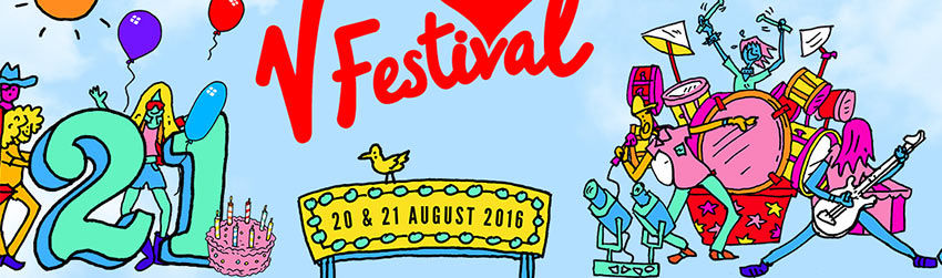 V festival 2016 gear moves and event logistics