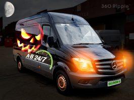 halloween event logistics AB247