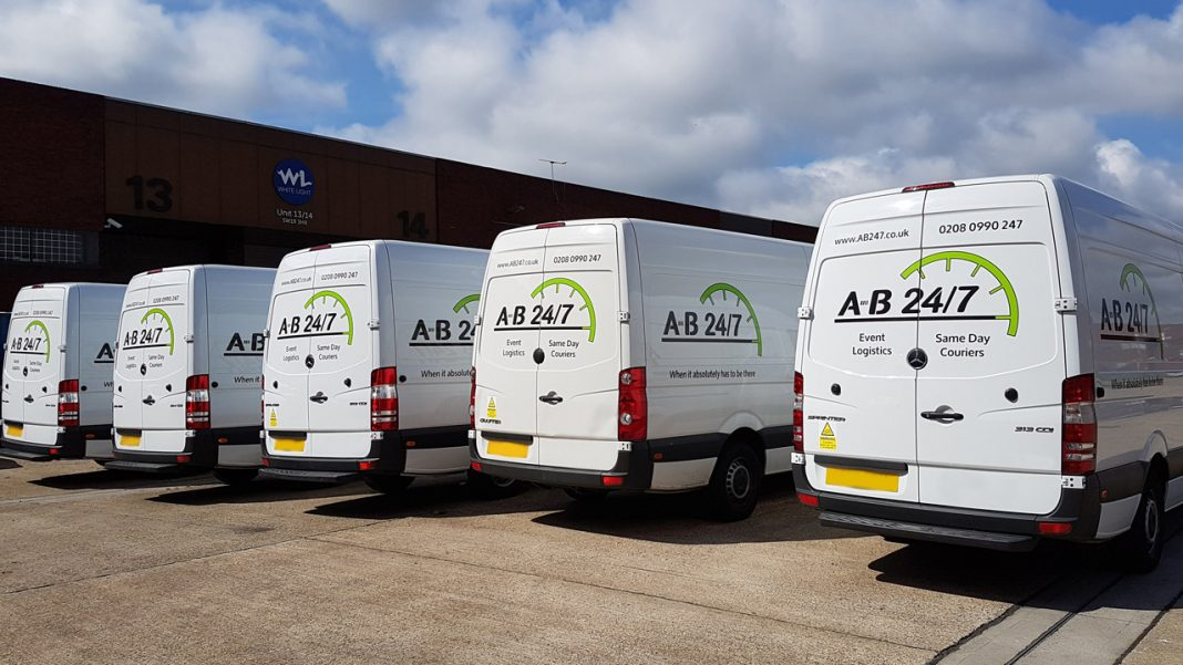 New Same Day Courier Vans 1 AB247
