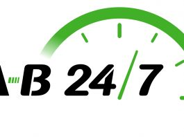 AB247 Same Day Courier Logo 2018