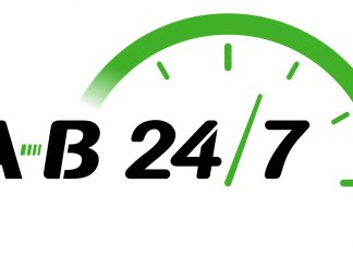 AB247 Same Day Courier Logo 2018