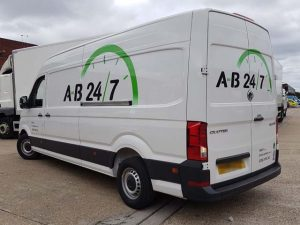 Document Delivery AB247 Same Day Courier Van 05