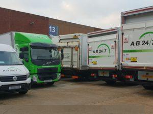 New event transport trucks 08