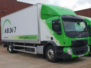 New event transport trucks - Medium Truck 01