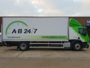 New event transport trucks - Medium Truck 02