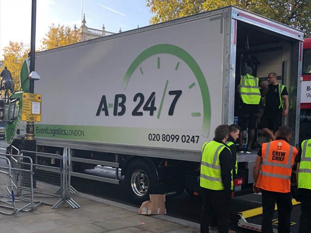 Event Transportation AB247 London 01