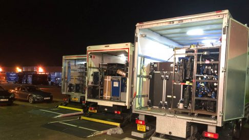 Overnight Storage AB247 Event Transport 01 gear moves