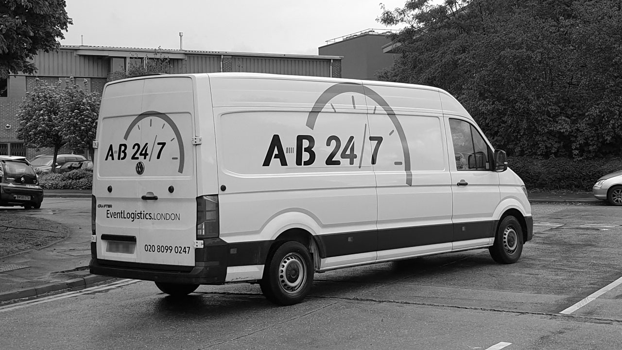 Same Day Delivery Van A-B 247 03b