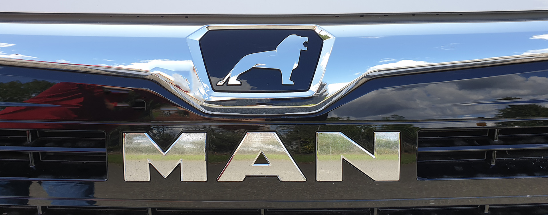 Photo of MAN grill badge