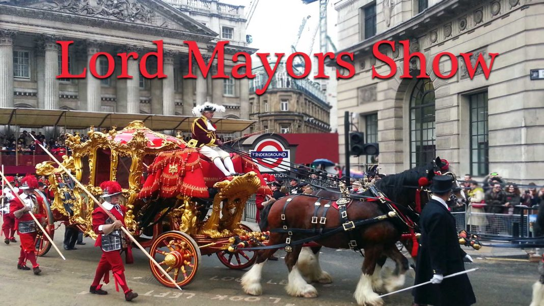 event transportation for the lord mayors show