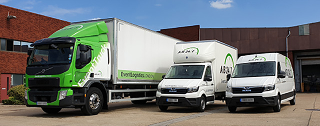 Photo of Event Transport Truck, Luton, and Van