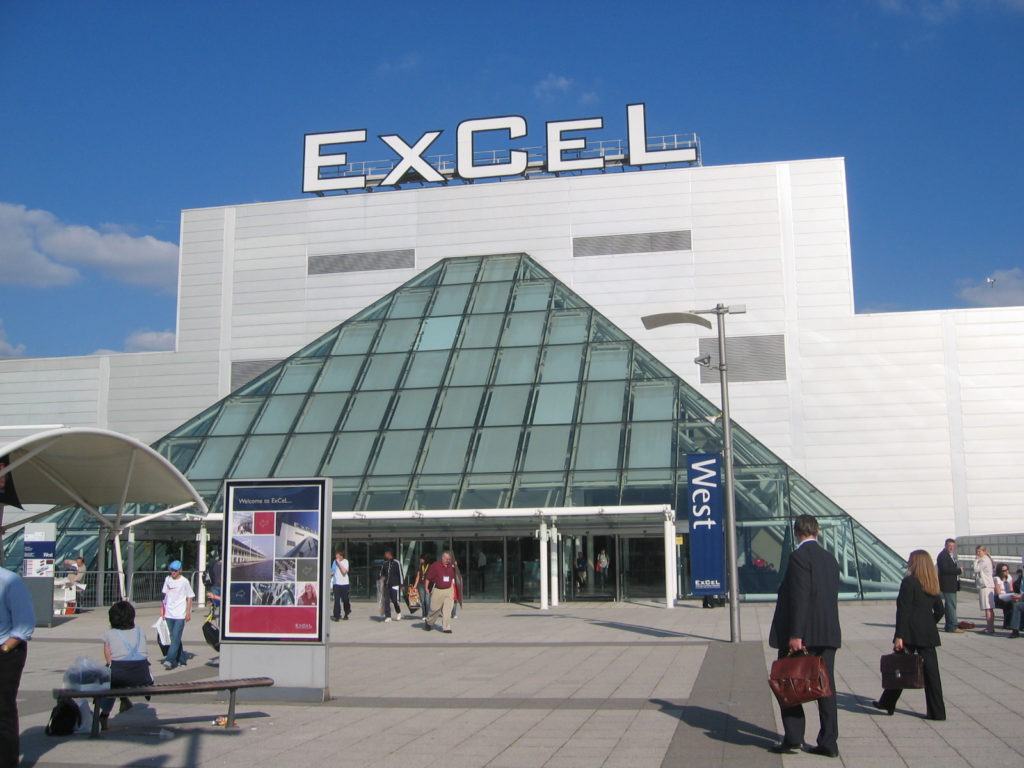 ExCeL London - event transporation for BETT