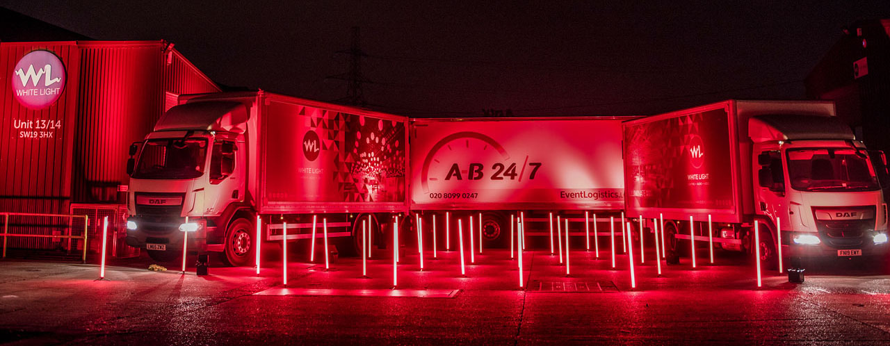 AB247 & White Light Light It In Red installation