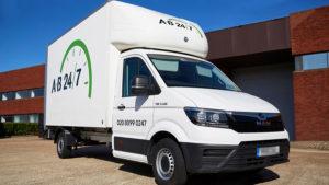 AB247 Delivery Luton Van