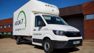 AB247 Event Transport Luton Van