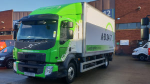 AB247 Small 14T Haulage Truck