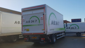 AB247 Small 14T Haulage Truck Rear
